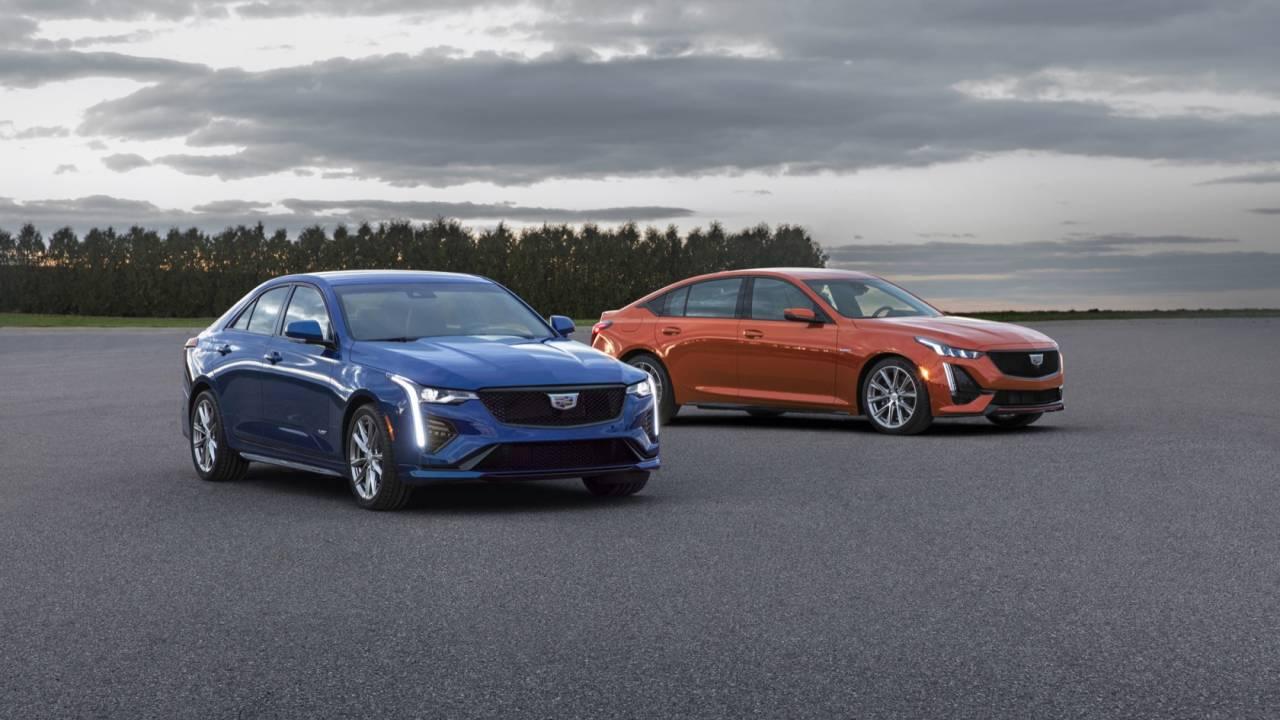 2020 Cadillac CT4-V and CT5-V Gallery
