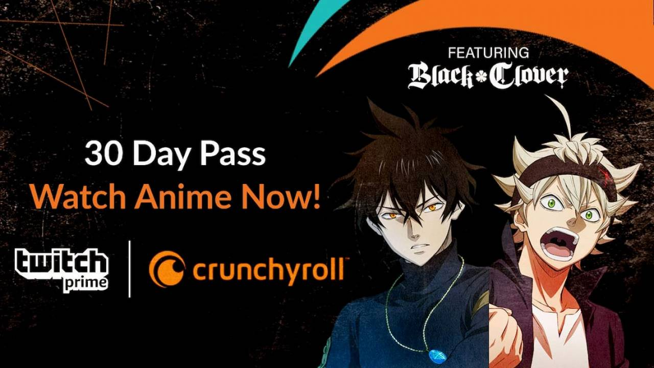 Twitch Prime now gets you free anime