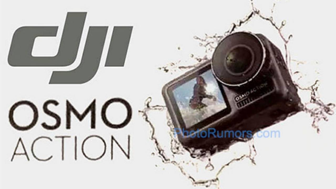 DJI OSMO Action cam leaked specs and images build up the hype