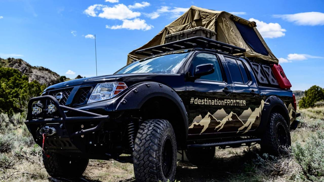 Nissan Ultimate Parks TITAN and Destination Frontier give trucks overland upgrades