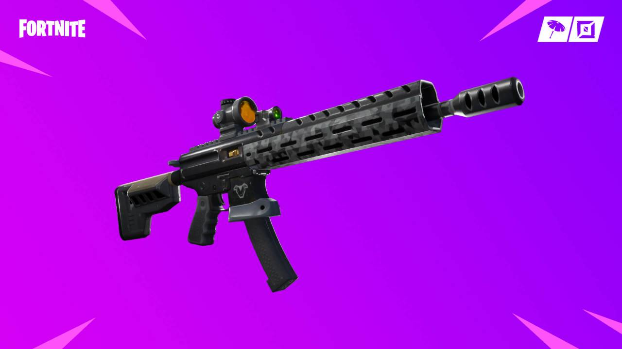 Fortnite v9.01 patch notes are all about automatic weapons