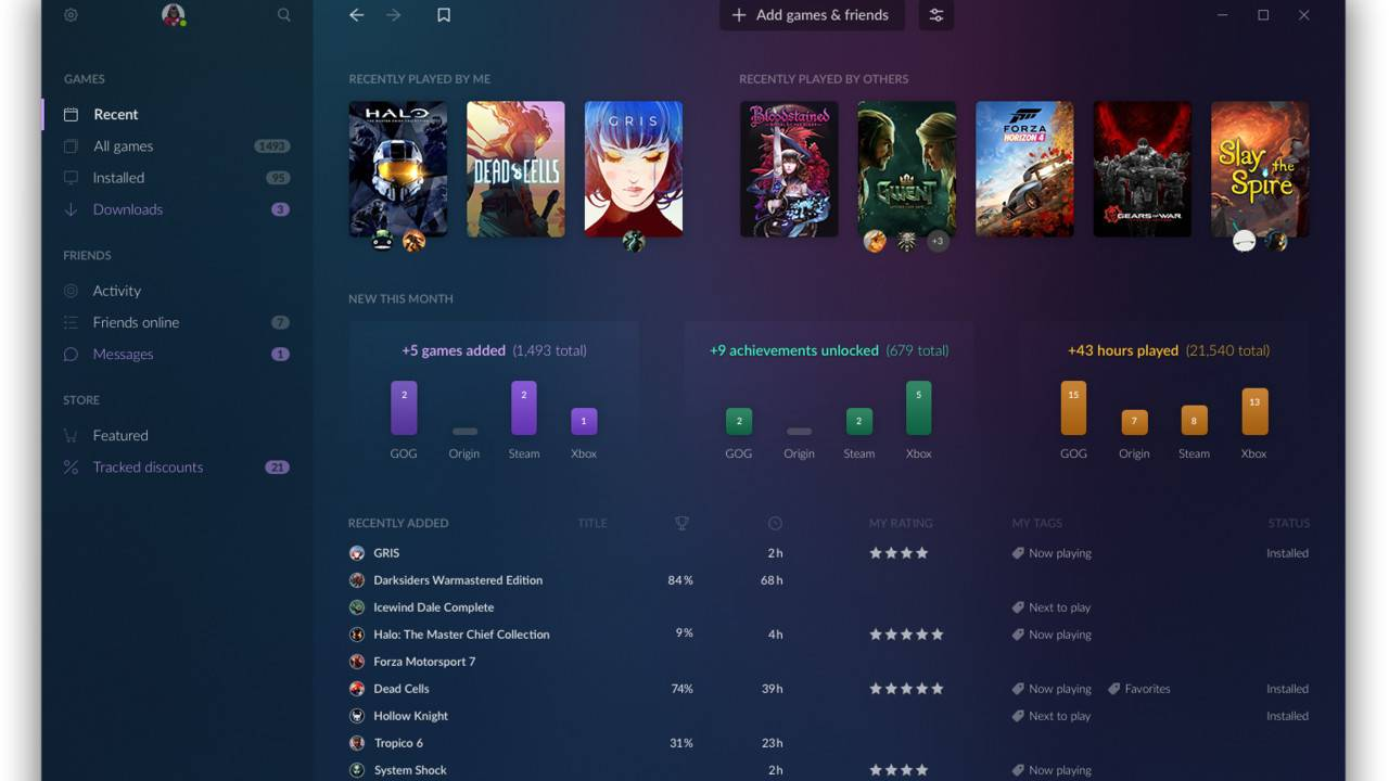 GOG Galaxy 2.0 wants to change the way we play PC games