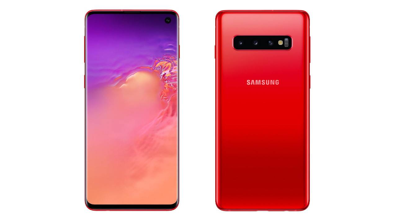 Leaked Cardinal Red Galaxy S10 might be the best looking Samsung flagship yet