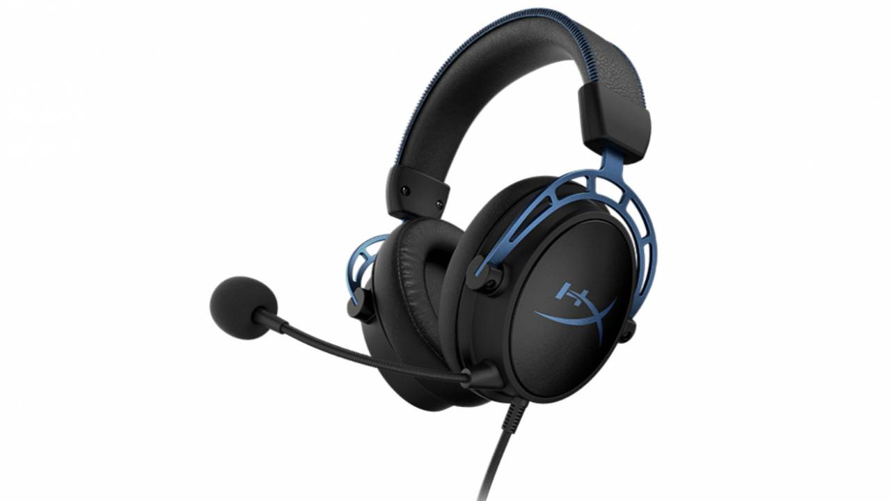 HyperX Cloud Alpha S gaming headset debuts with virtual 7.1 surround sound