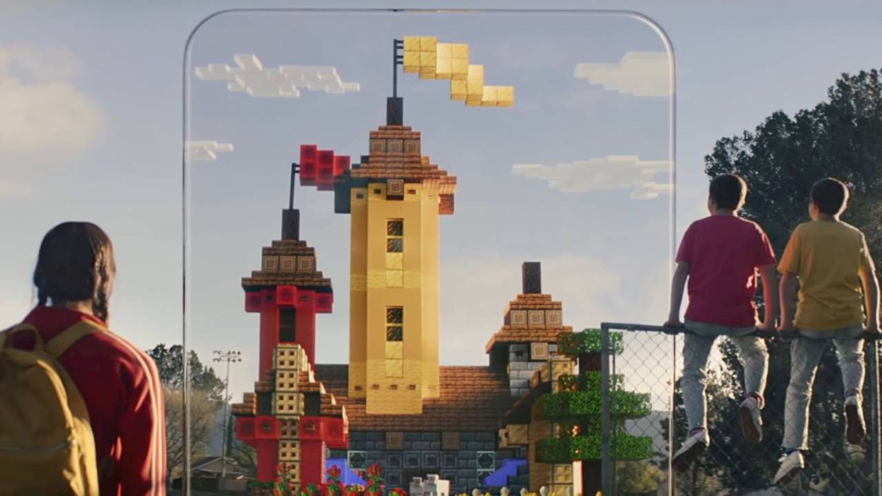 AR game Minecraft Earth is about to take over the world