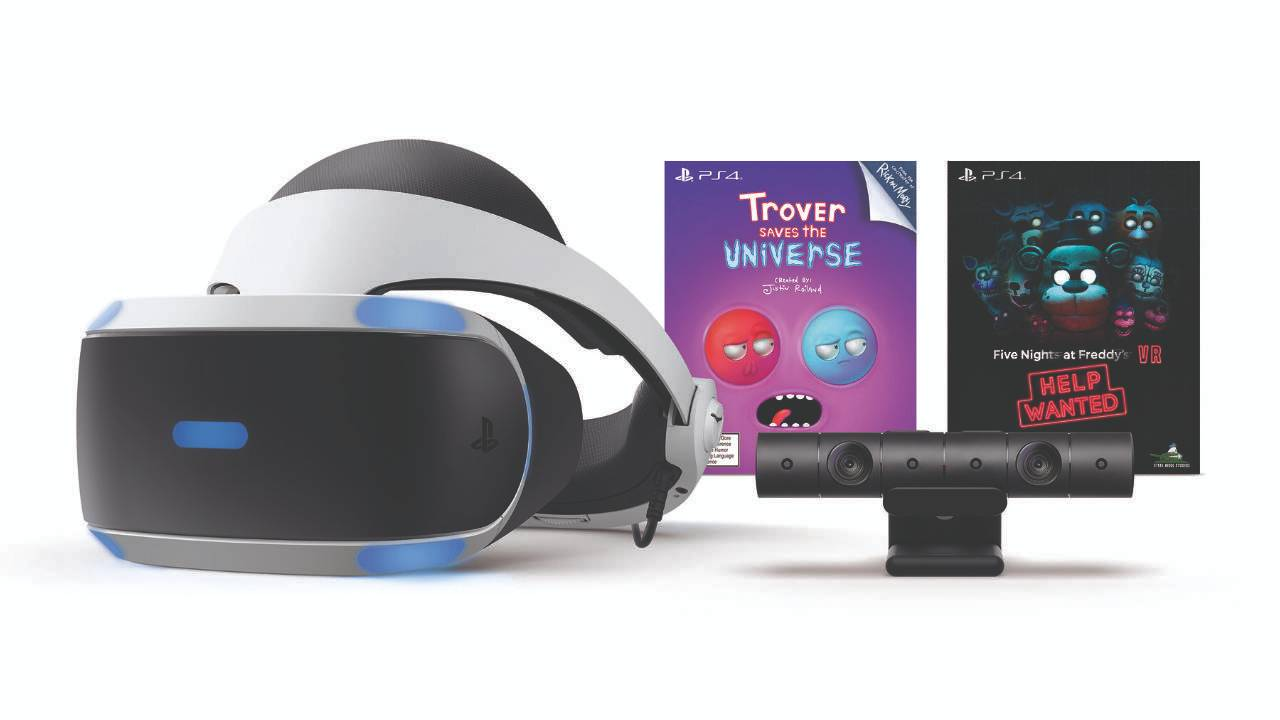 New PlayStation VR bundles offer golf, action, and animatronic horror