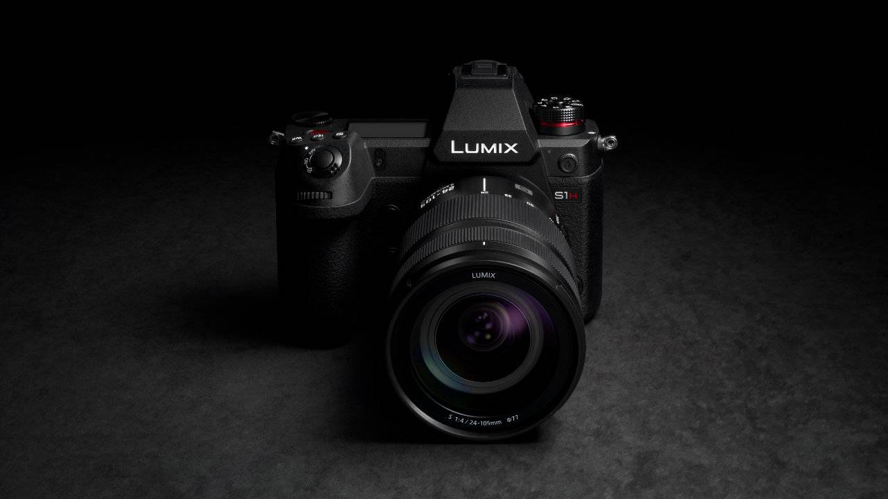 Panasonic Lumix S1H full-frame mirrorless camera shoots 6K video
