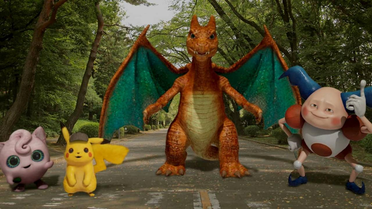 Detective Pikachu and friends get the Google AR treatment