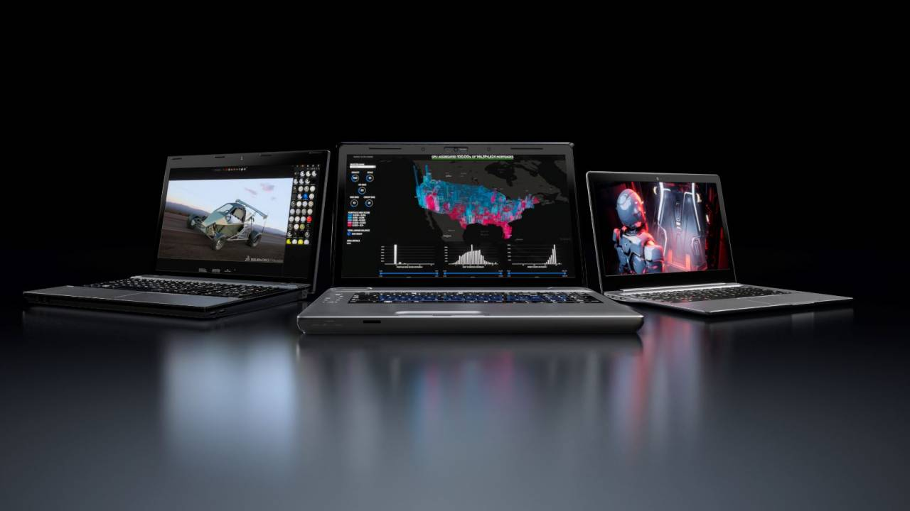 NVIDIA announces Quadro RTX mobile workstations for Studio program