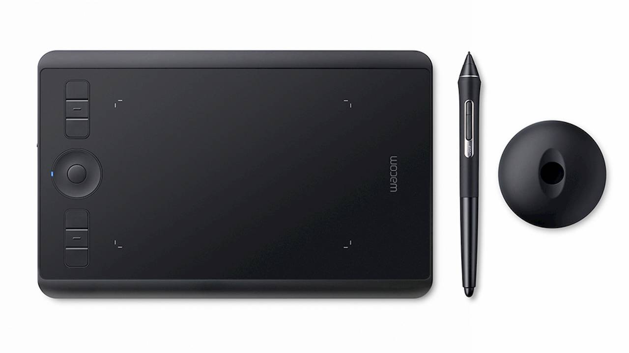Intuos Pro Small rounds out Wacom's trio of pen tablets