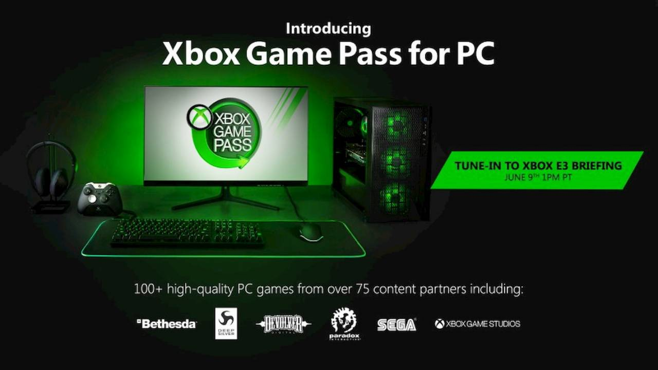 Xbox Game Pass is coming to PC with more than 100 games