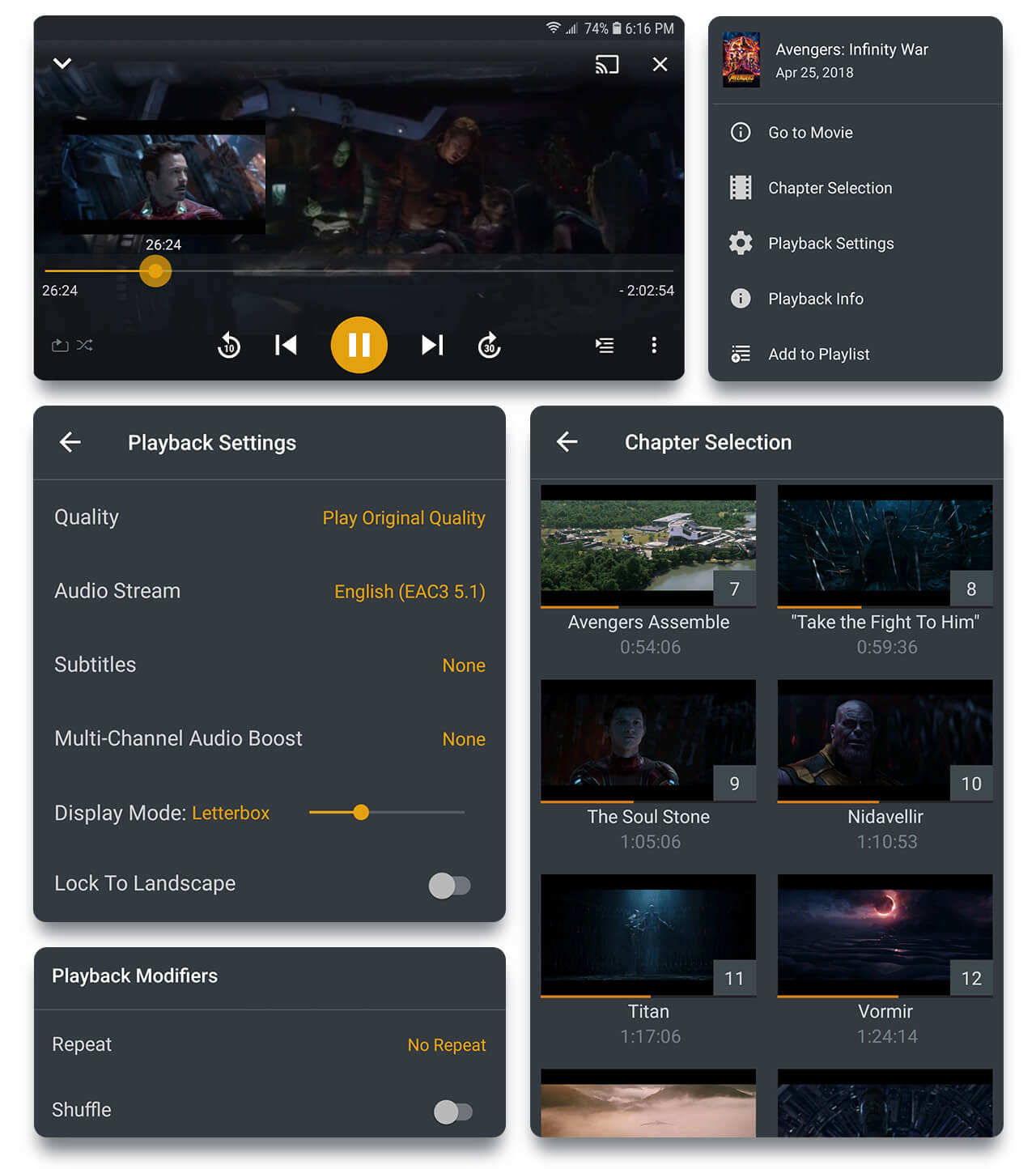 Plex Android update brings PiP, video preloading and new