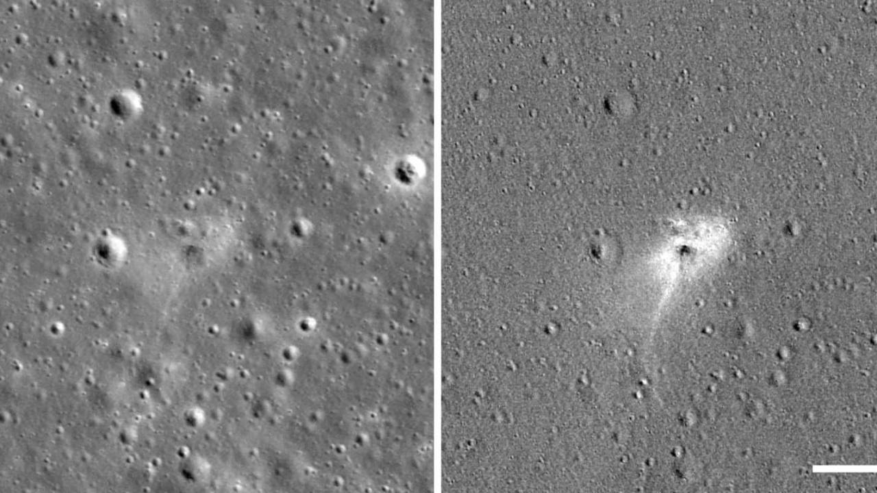 NASA LRO spots Beresheet spacecraft's impact site on the Moon