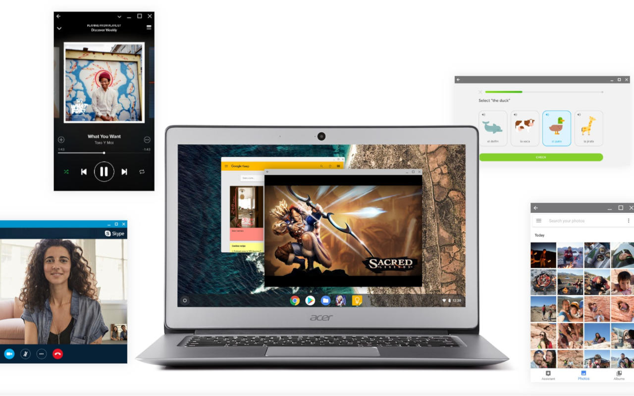 OneChrome project to deepen Chrome OS and Android integration
