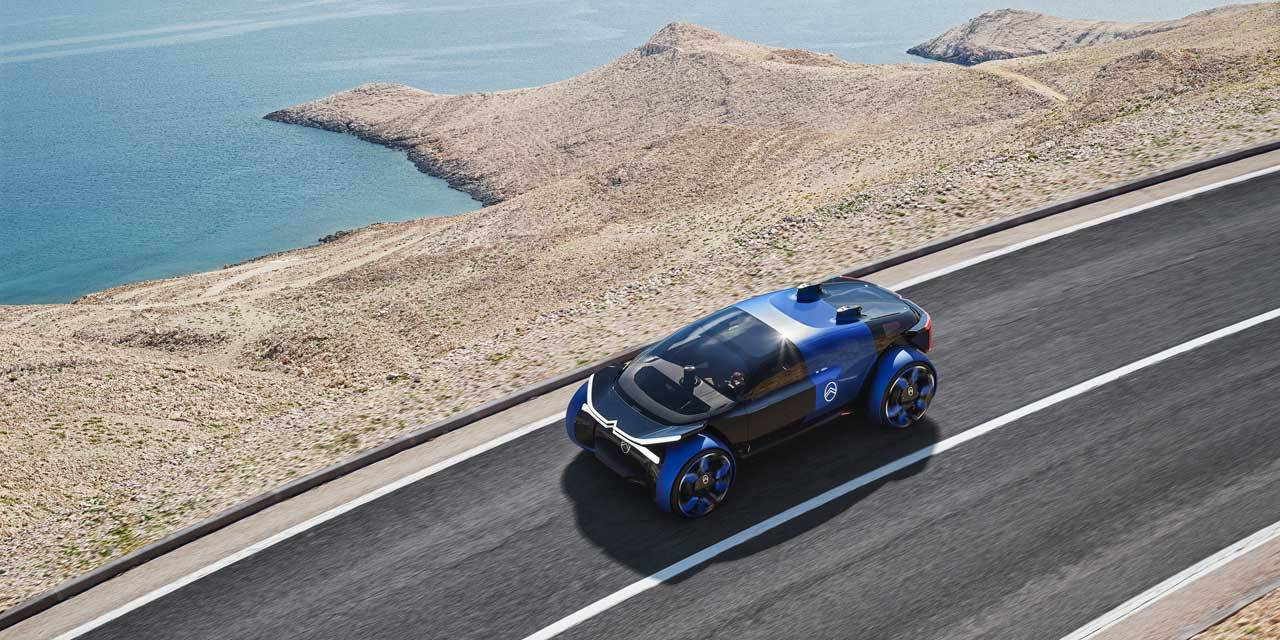 Citroen 19_19 Concept aims to be a comfortable escape from the city