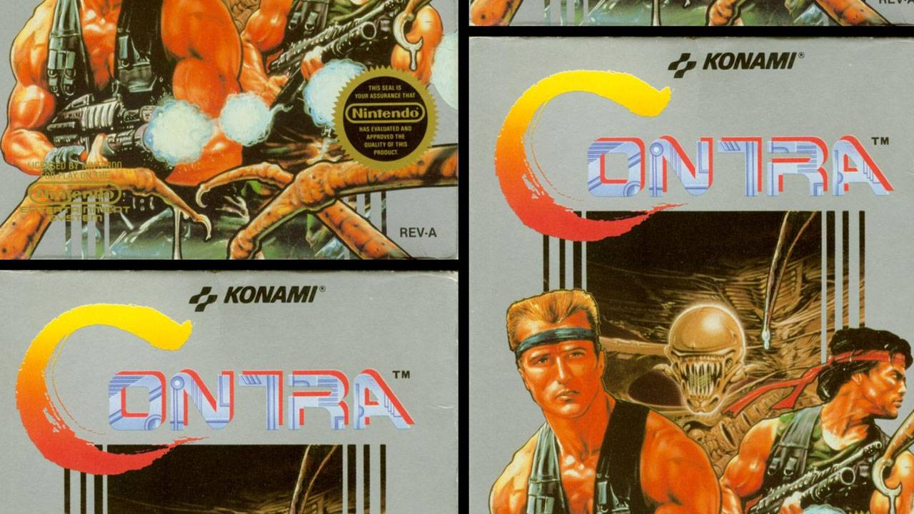 Contra Anniversary Collection detailed: The games list