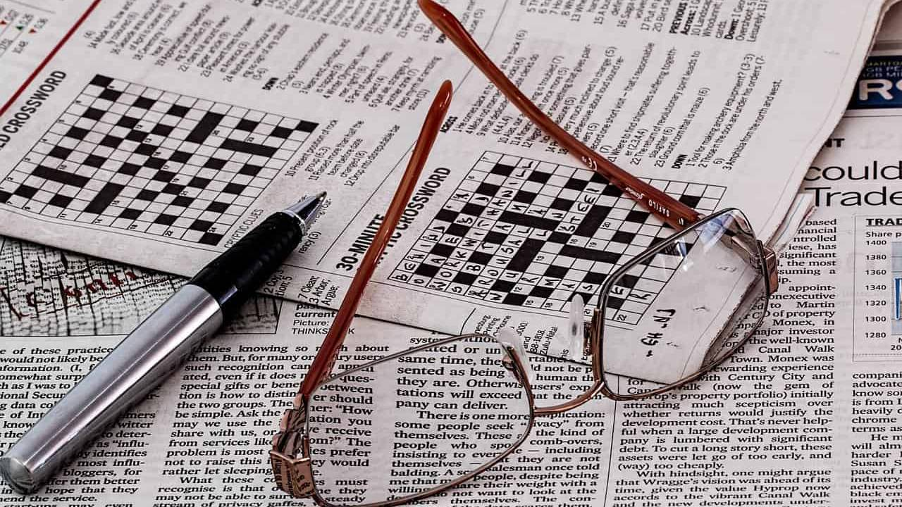 Crossword and number puzzles really do help keep old brains sharp