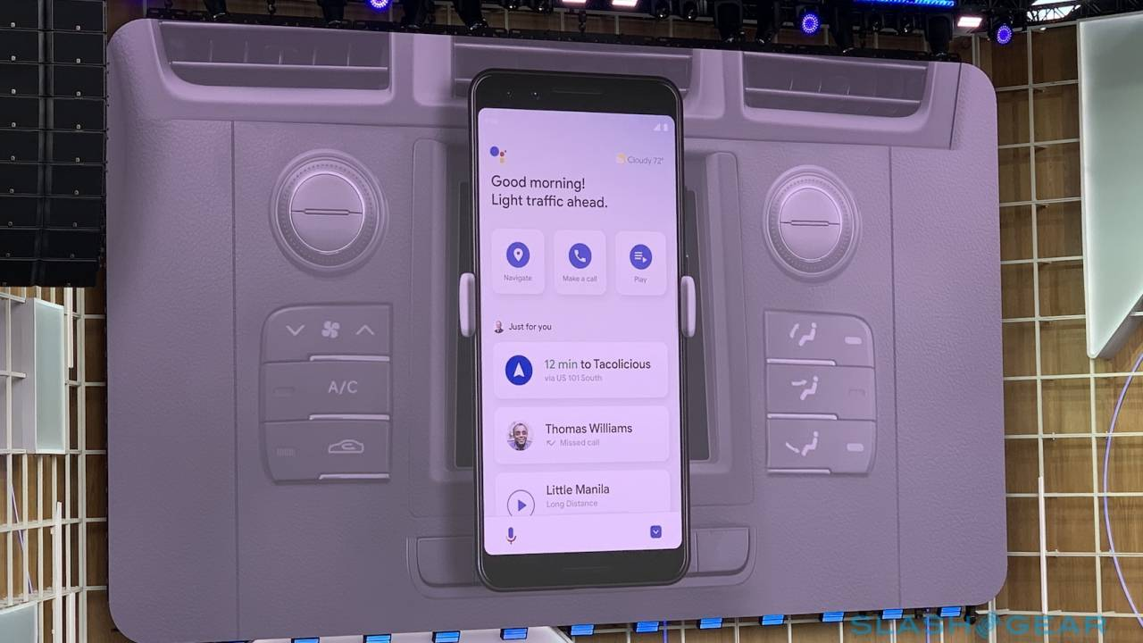 Google Assistant Driving Mode is easiest route yet to a smarter dashboard