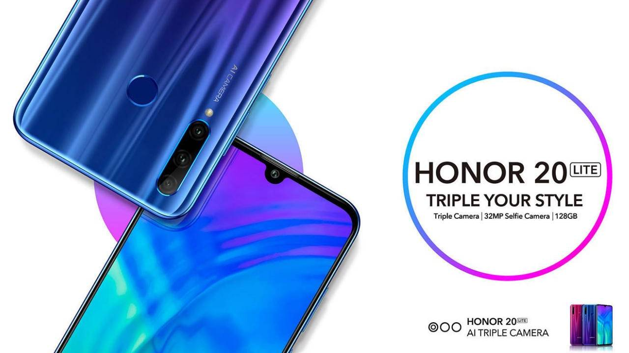 Honor 20 Lite's triple cameras aren't its highlight