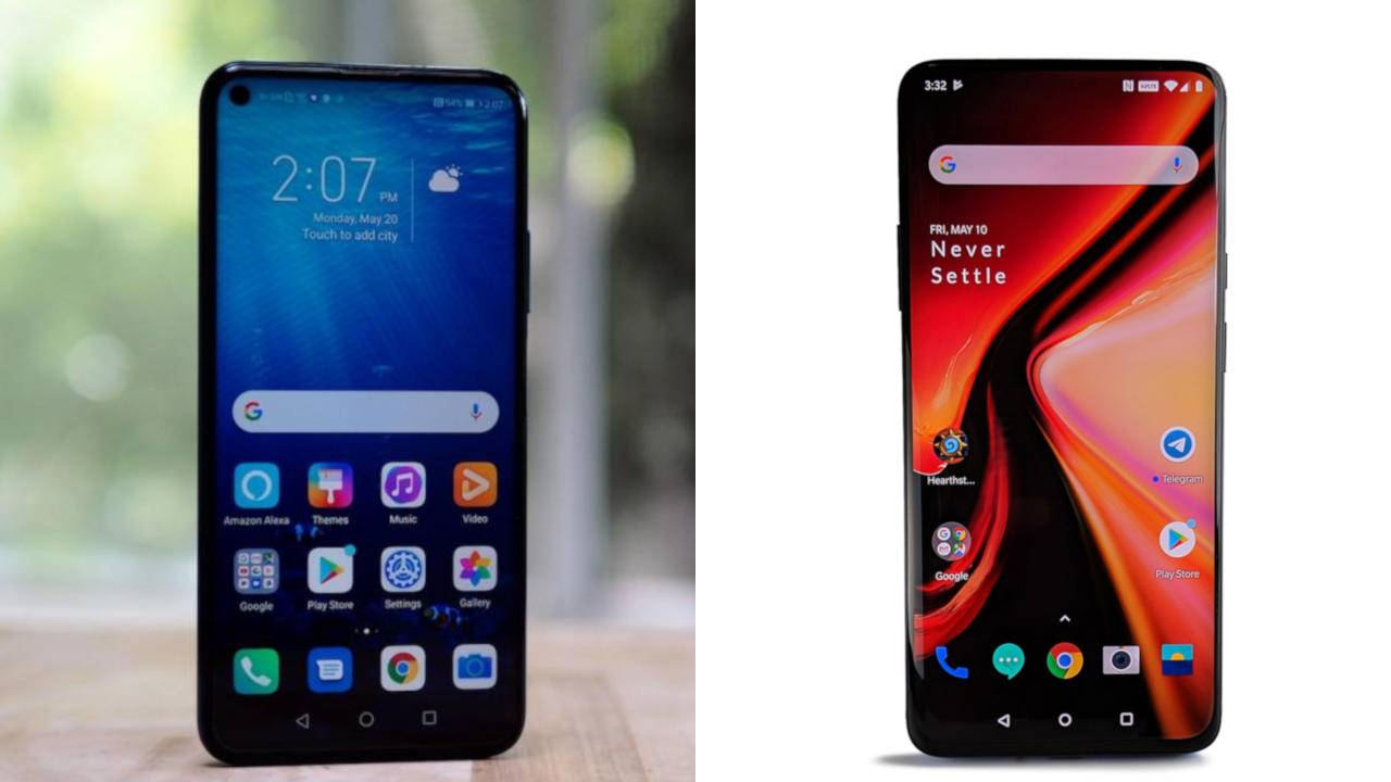 Honor 20 Pro vs OnePlus 7 Pro: battle of affordable