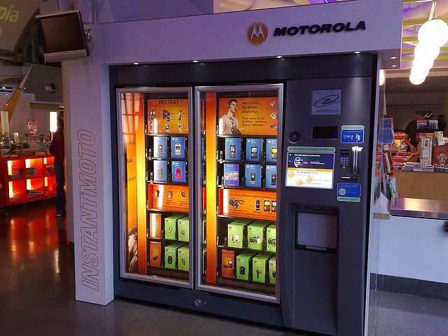 Smartphone vending machines: What could go wrong? - SlashGear
