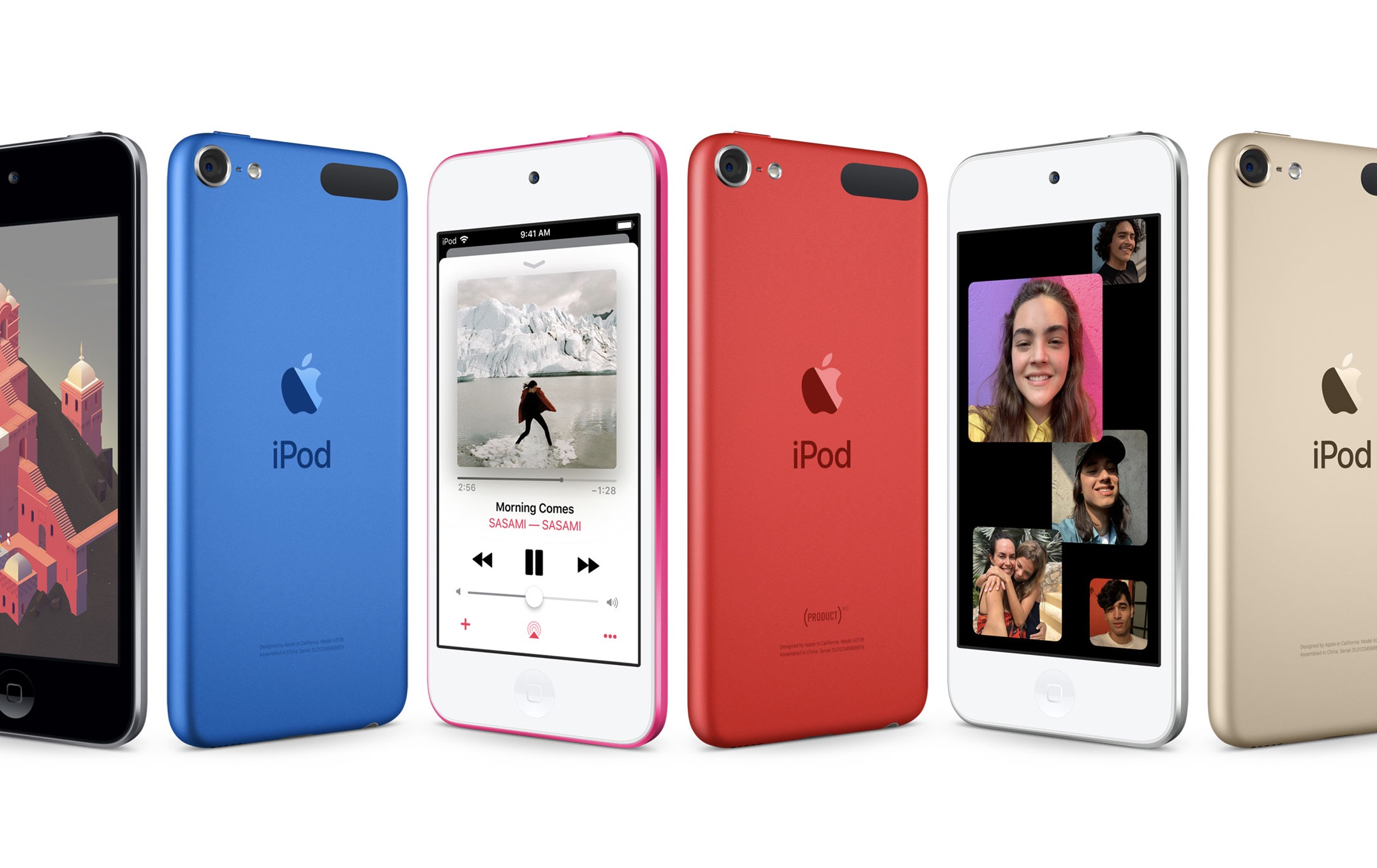 Apple iPod Touch 6th Generation Tested All Colors All GB Storage Sizes