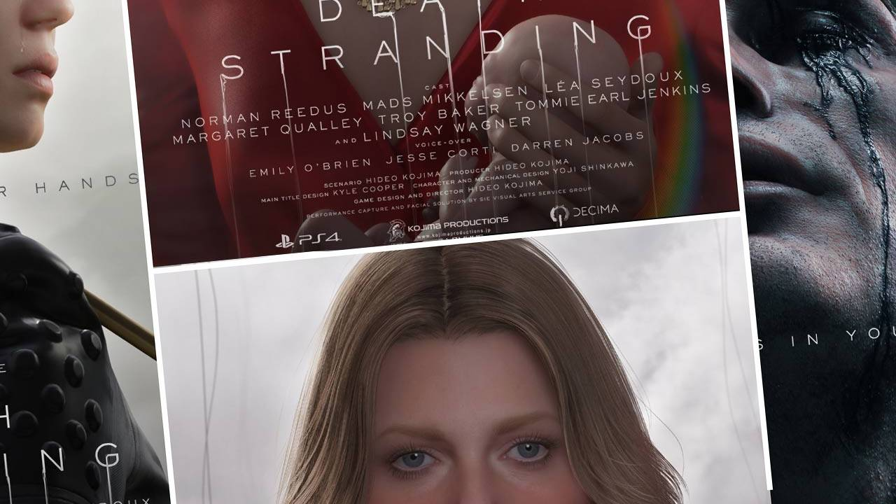 Hideo Kojima's Death Stranding release date, gameplay trailer deluge