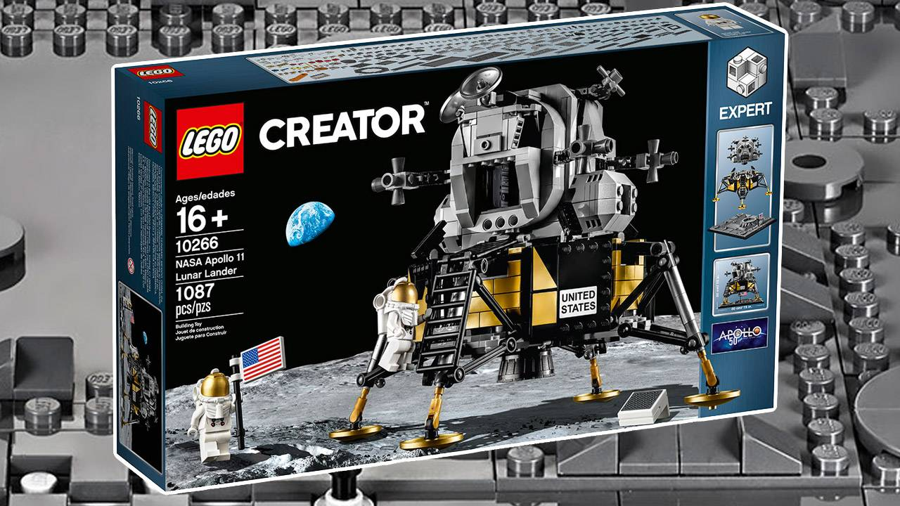 LEGO Apollo 11 Lunar Lander joins 7 new sets depicting NASA's future