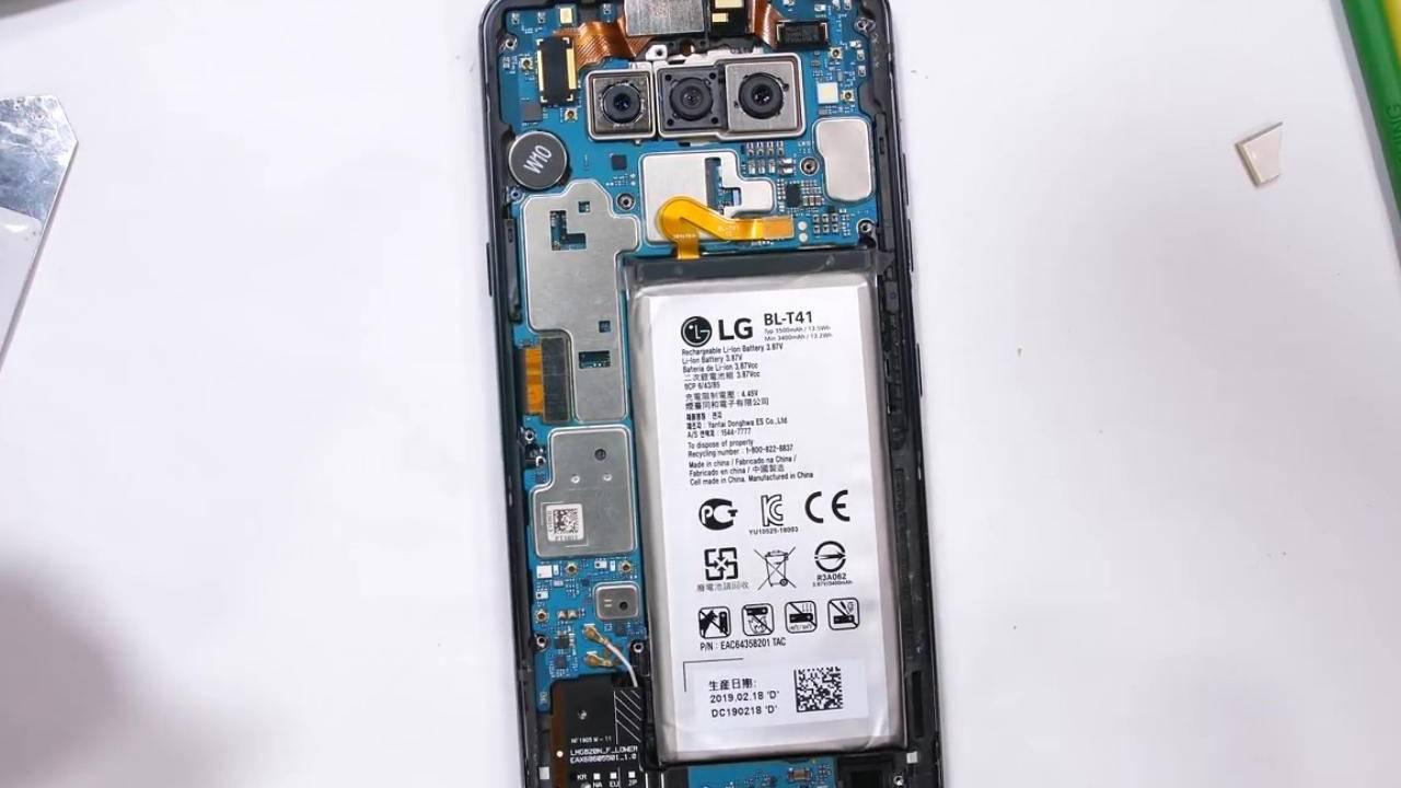 LG G8 ThinQ teardown reveals one giant repair problem
