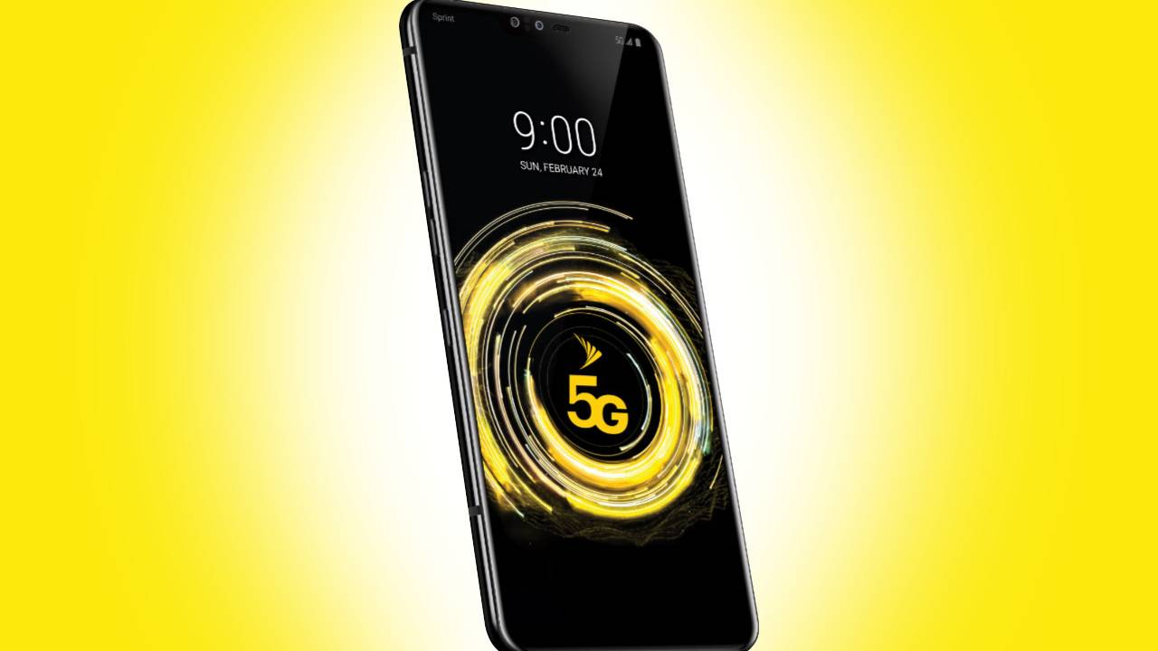 Sprint dates its first 5G devices: LG V50 ThinQ, HTC 5G Hub