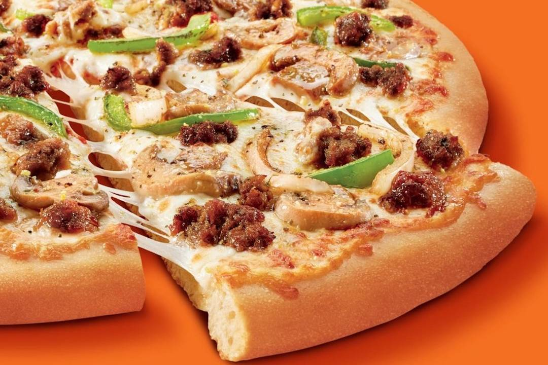 Impossible Foods new fake-meat sausage arrives on Little Caesars pizza