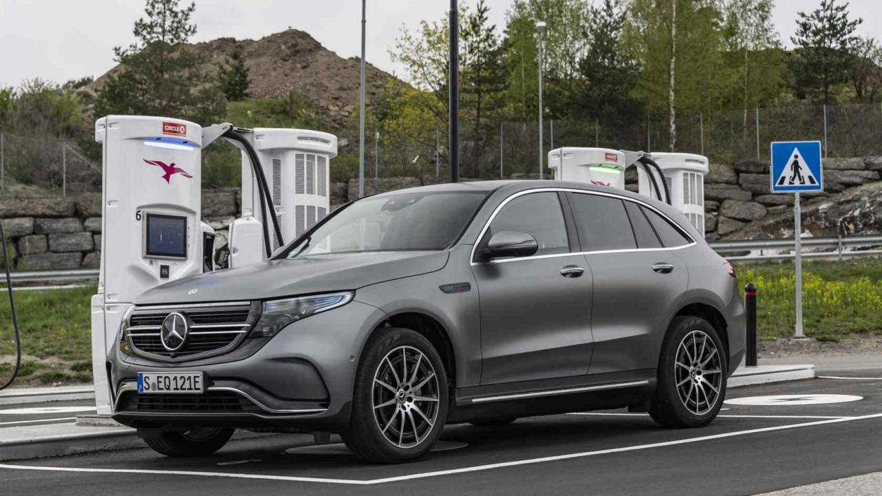 2020 Mercedes-Benz EQC SUV First Drive: Luxury EV in motion