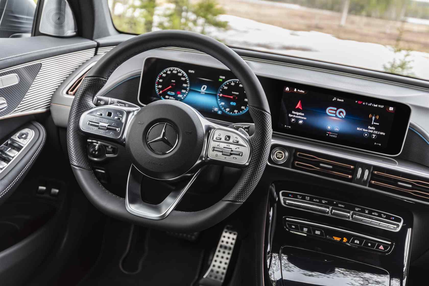 2020 Mercedes-Benz EQC SUV First Drive: Luxury EV in ...
