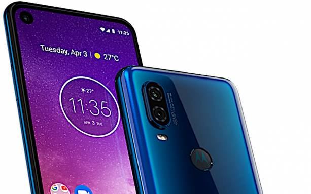 Motorola One Vision leak shows Android One phone's two colors