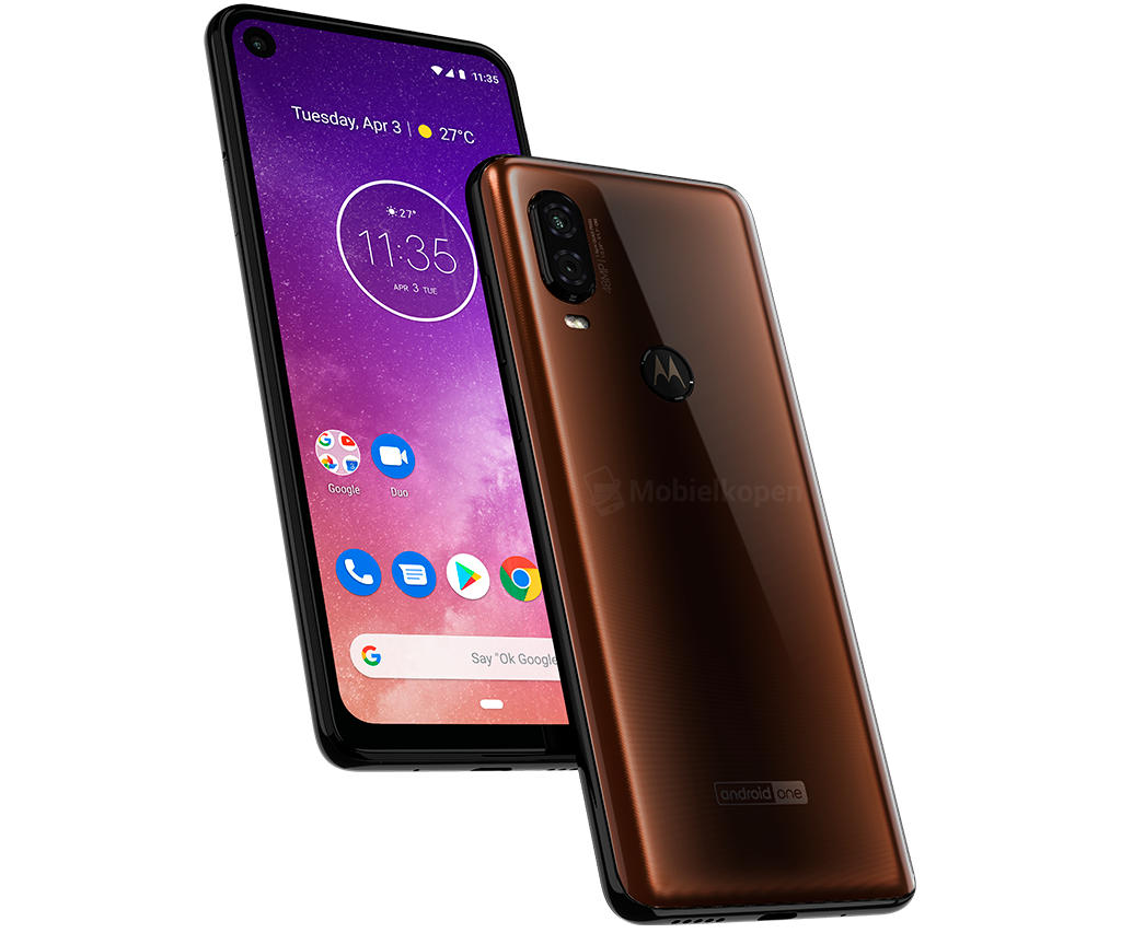 Motorola One Vision leak shows Android One phone's two