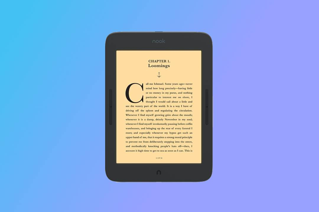 B&N NOOK GlowLight Plus makes clever screen tech even bigger