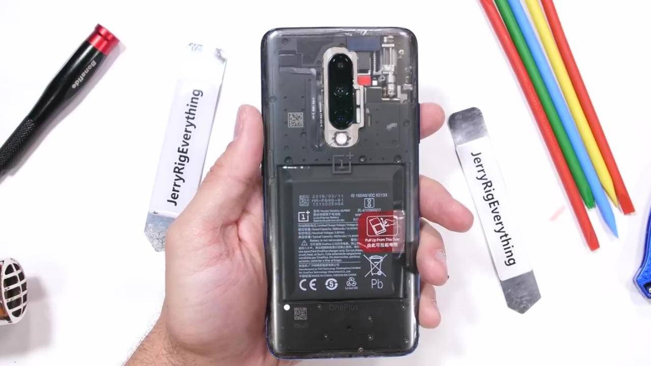 OnePlus 7 Pro Clear Back hints at some potential bad repair news