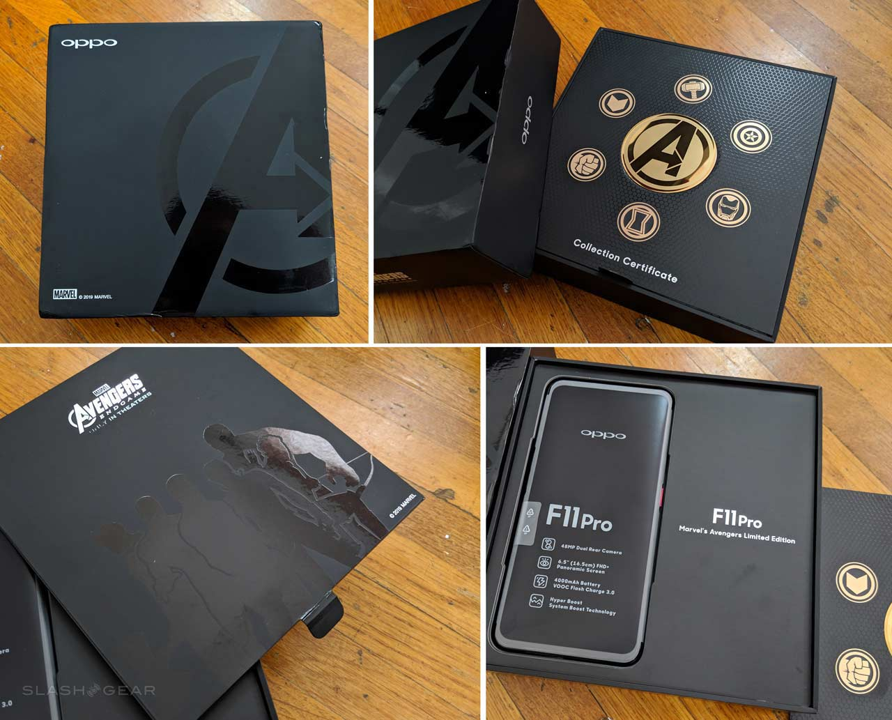 OPPO Avengers Endgame phone unboxing: You can't have it! - SlashGear