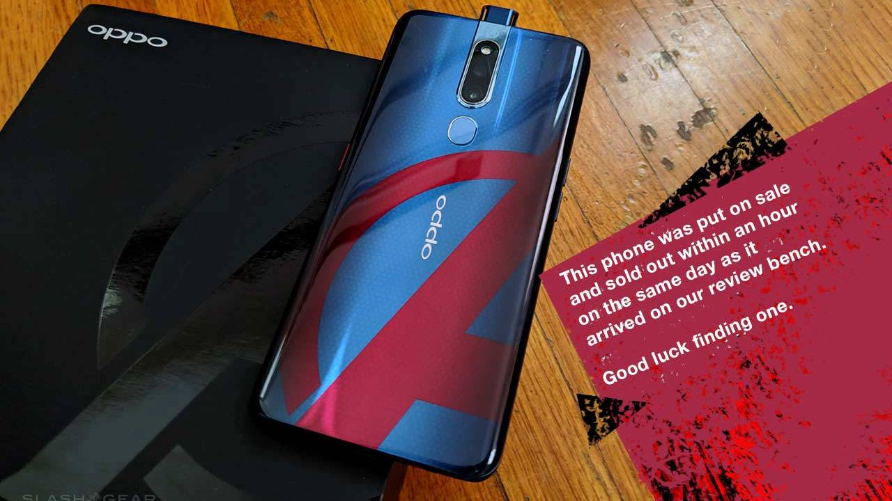 OPPO Avengers Endgame phone unboxing: You can't have it!