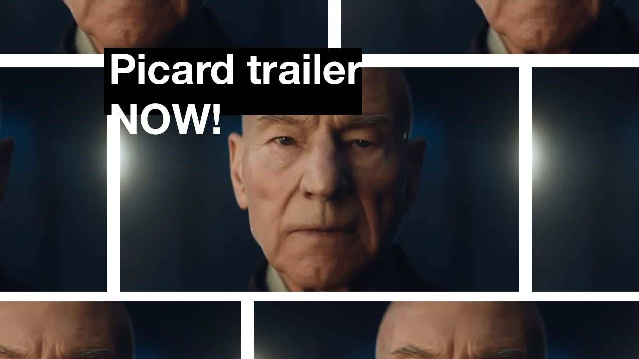 First Star Trek: Picard trailer in detail UPDATE: It's back!