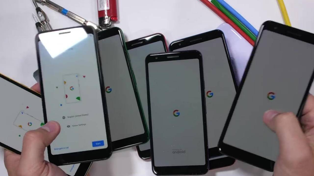 Pixel 3a durability test gives a brief scare