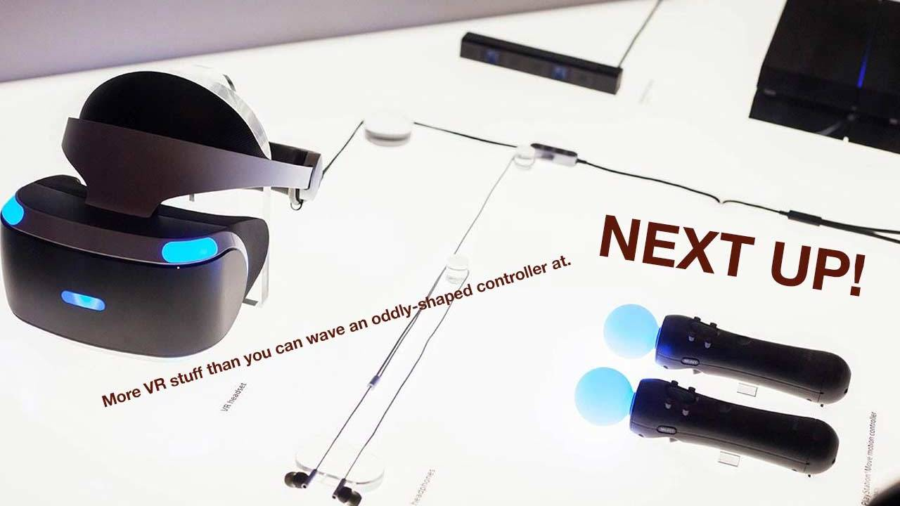 VR pants, shoes, gloves, and other things Sony has planned