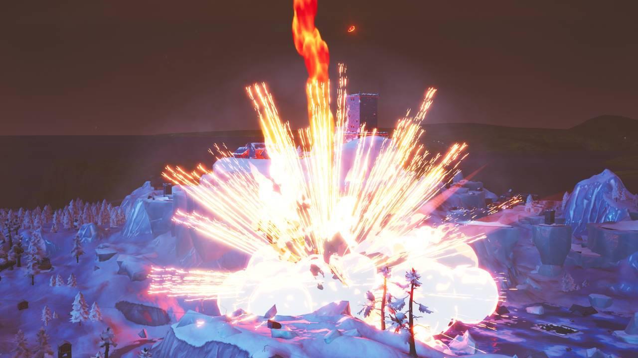Fortnite Polar Peak activity hints at anticipated dragon uprising