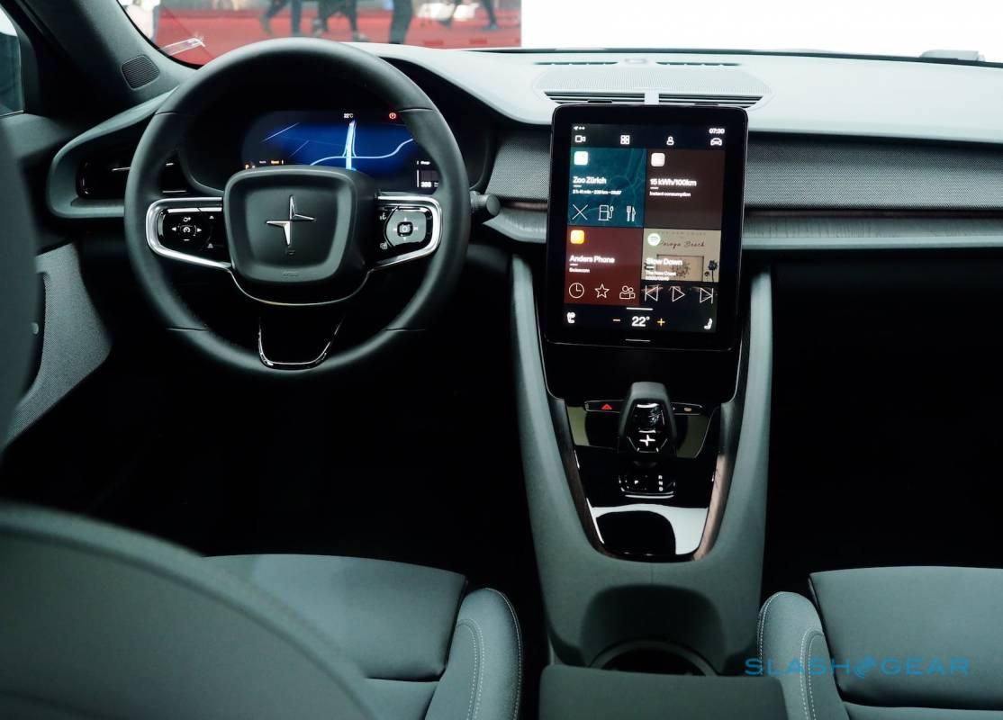 Android Automotive OS hands on: Polestar 2 spills its secrets