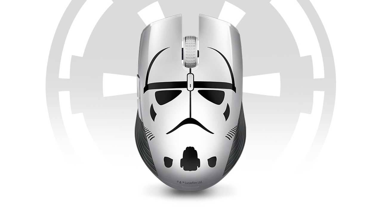 Razer Stormtrooper gaming gear goes B&W for Star Wars day