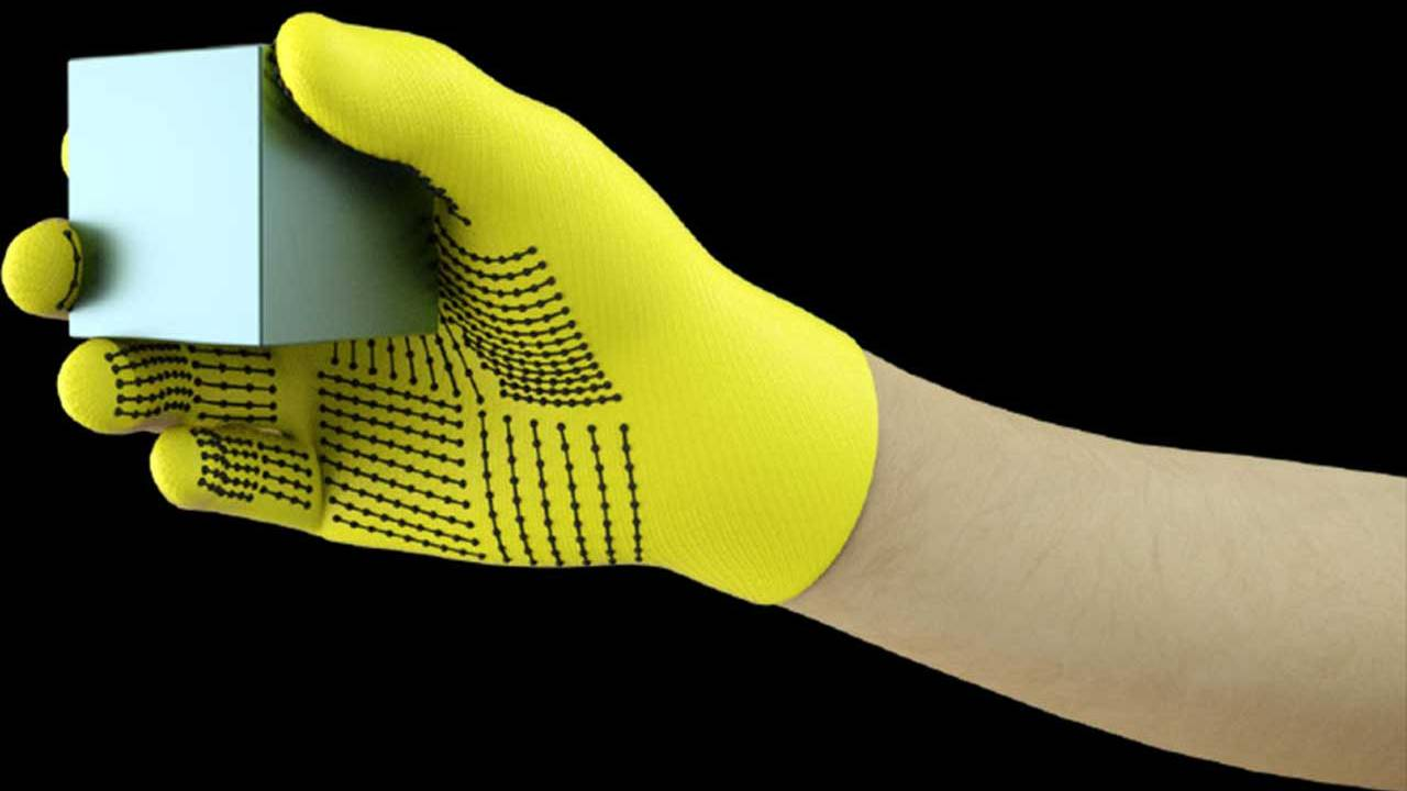 MIT's sensor-packed glove helps neural networks learn