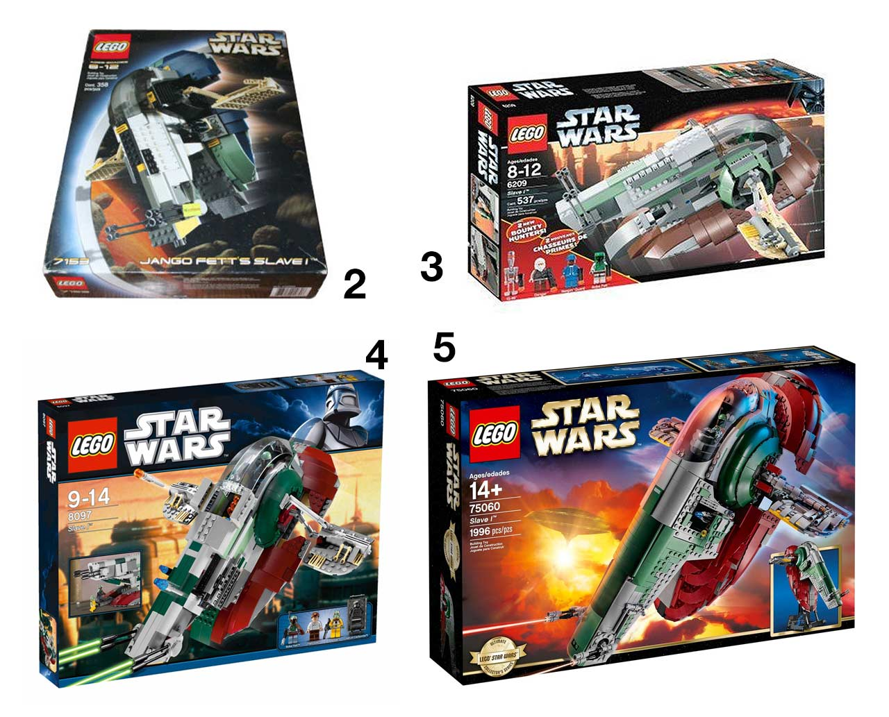 Star Wars Boba Fett's Slave I: 20th Anniversary Edition LEGO