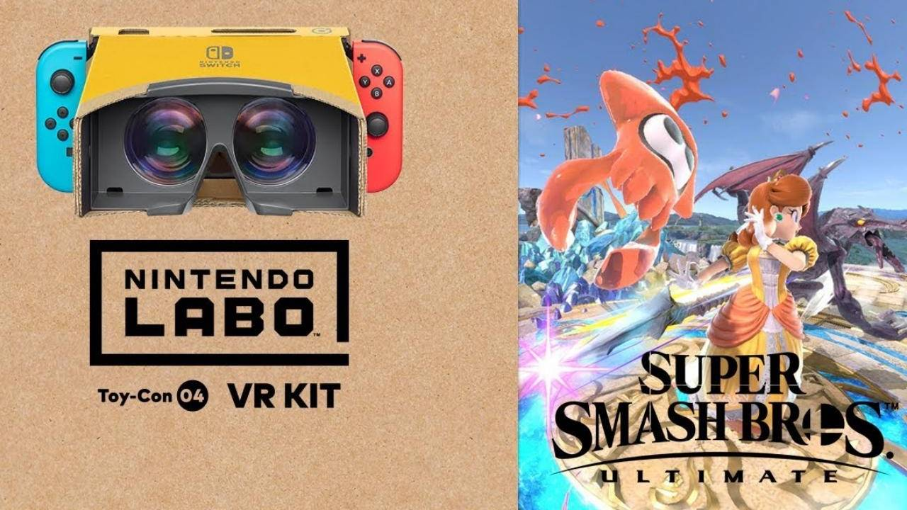 Super Smash Bros. Ultimate gets Labo VR support