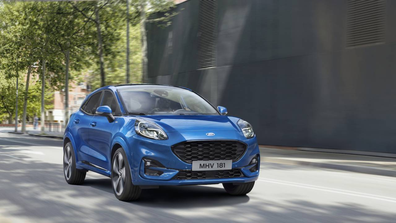 The 2019 Ford Puma cute hybrid crossover brings disappointing news