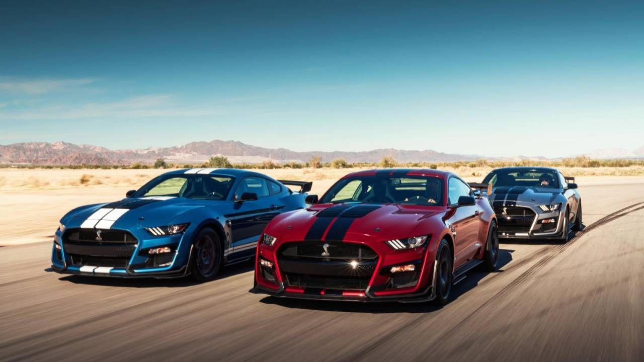 2020 ford mustang shelby gt500 is a 760 horsepower beast slashgear